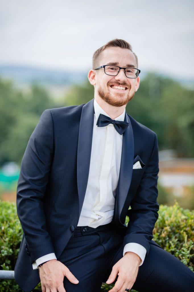 Hochzeitsfotografie vom Bräutigam