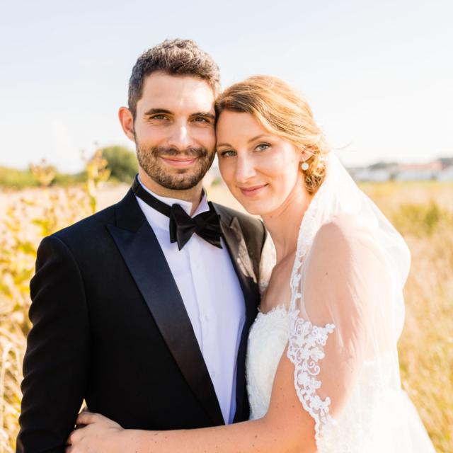 Glückliches Brautpaar - Hochzeitsfotografie Fürstenfeldbruck