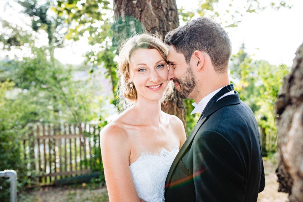 Hochzeitspaar im freien - Hochzeitsfotografie Fürstenfeldbruck
