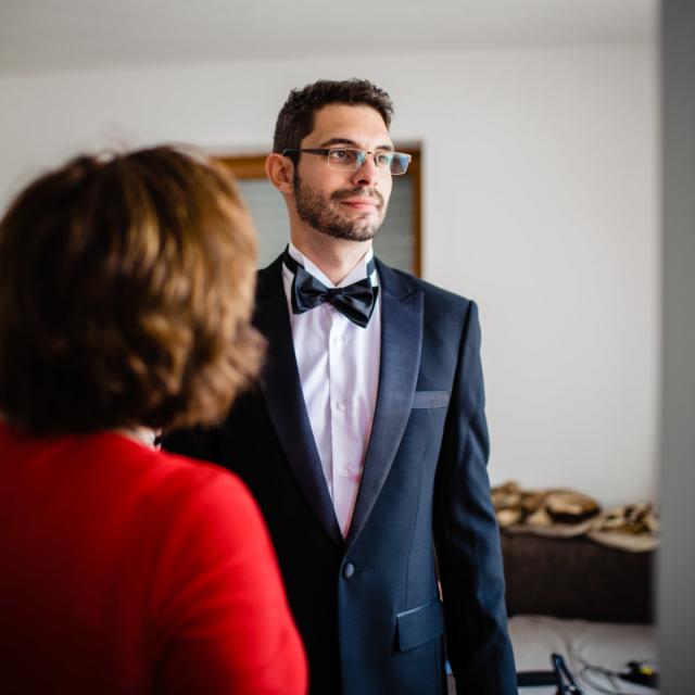Hochzeitsfoto zeigt Bräutigam - Hochzeitsfoto-Fürstenfeldbruck